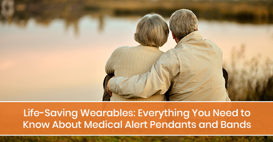 Everything you need to know about medical alert pendants and bands